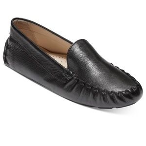 Cole Haan black leather Evelyn Driver loafer size9